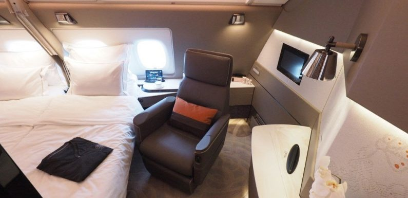 8 amazing first class seats you can still book with points and miles
