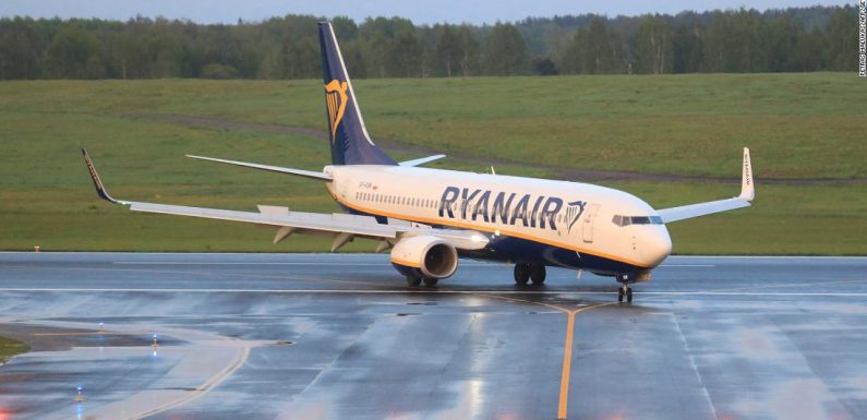Airlines are avoiding Belarus airspace after Ryanair incident
