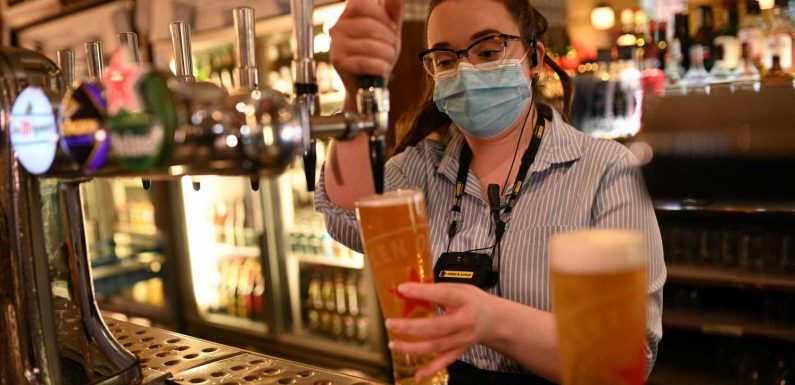 Britain's pubs, museums are reopening and vacations are allowed. But COVID variants are on the rise.