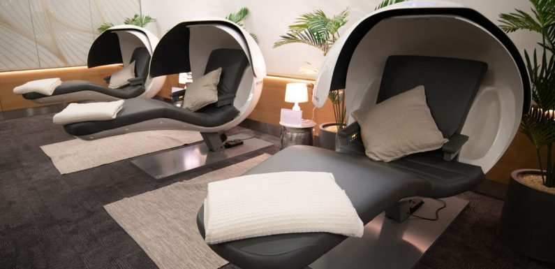 British Airways launches 'Forty Winks' suites with nap pods for tired passengers
