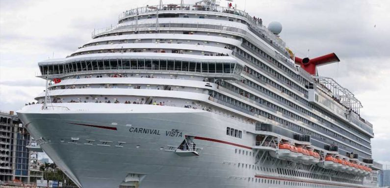 Carnival Cruise Line Cancels Most Sailings Through July, but Remains Hopeful for Sailings in Florida, Texas