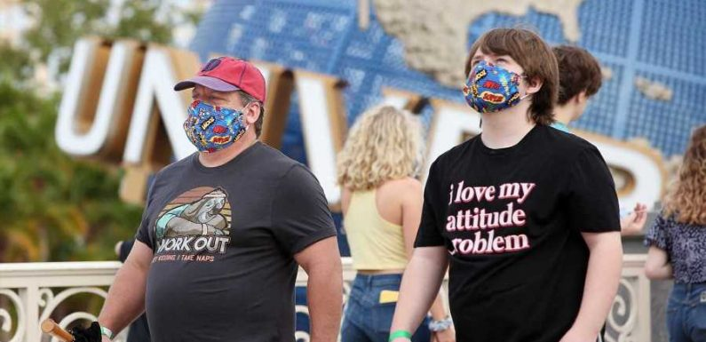 Disney World, Universal Orlando, and More Florida Theme Parks End Mask Requirement Outdoors