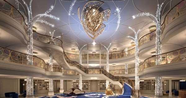 Disney shares sneak peek of magical new wedding venue at sea