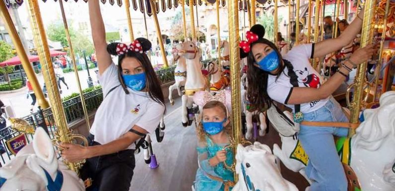 Disneyland and other California theme parks will return to full capacity in June – here's what is changing