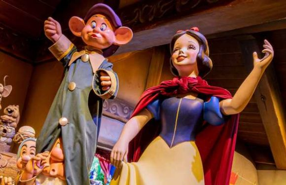 Disneyland's Snow White ride faces backlash over Prince Charming's kiss