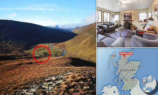 Escape civilisation at one of the most remote lodges in BRITAIN