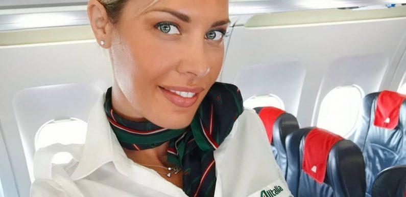 Flight attendant slams male admirers who refuse to accept she has a boyfriend