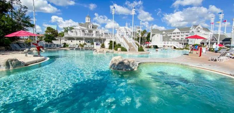 Hotel with the best pool complex at Disney World: Review of Disney's Yacht Club Resort