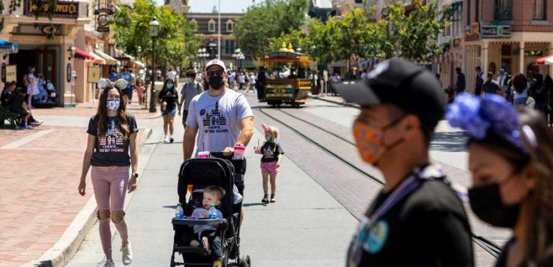 I Visited Disneyland Right After It Reopened — Here's What It Was Like