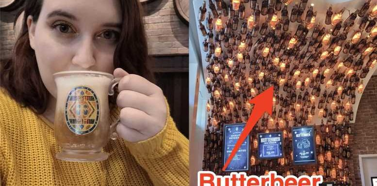 I visited the Butterbeer Bar inside the new 'Harry Potter' store in New York, and the drink was heaven in a cup
