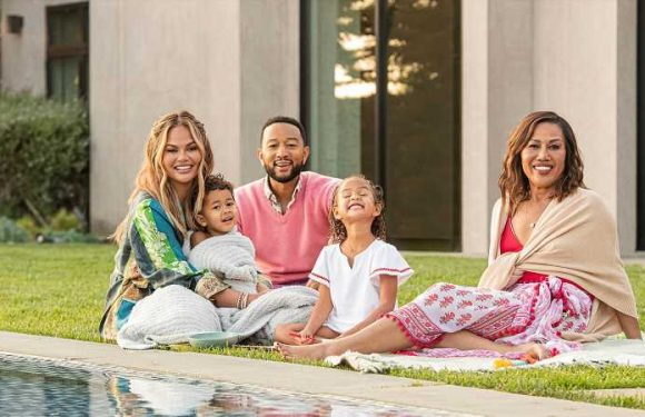 John Legend and Chrissy Teigen Become Vrbo's First 'Family in Residence'