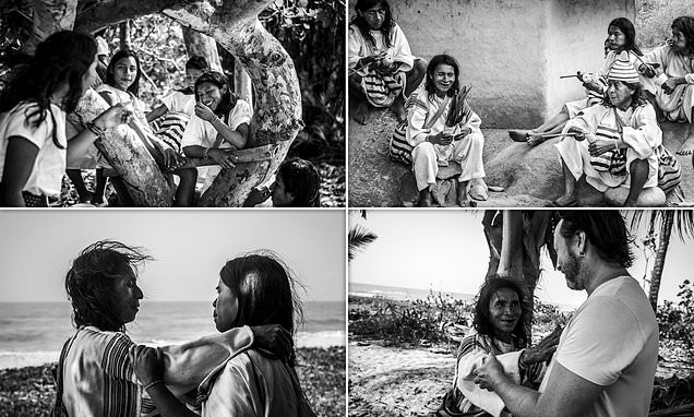 Julian Lennon releases stunning photos of Colombia's remote Kogi tribe