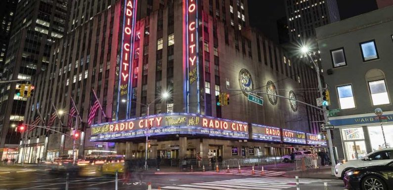 NYC's Radio City Music Hall Will Welcome Unmasked, Vaccinated Audiences Starting in June