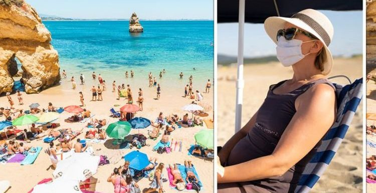 Portugal warns British tourists they face £100 fine if they break strict Covid beach rules