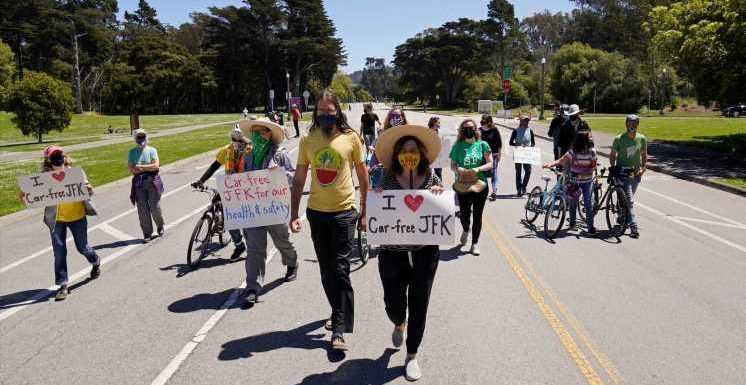 San Francisco residents debate keeping scenic roads car-free after COVID