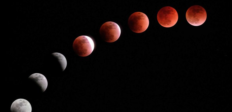 See 2021's Super Blood Moon Lunar Eclipse in Parts of North America Tomorrow