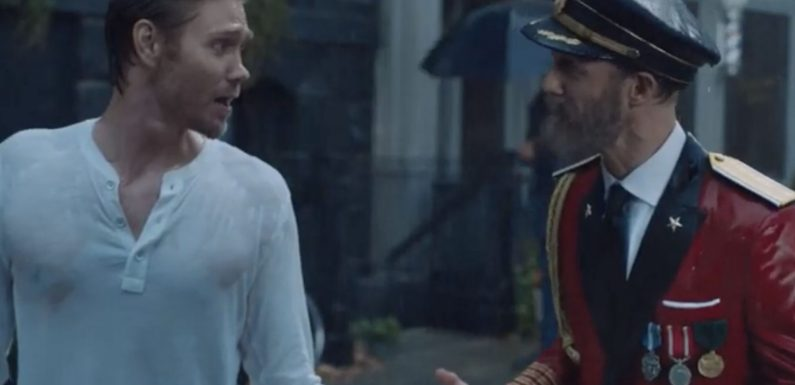 See Chad Michael Murray Turn a Hotels.com Commercial Into a Classic Rom-com Moment