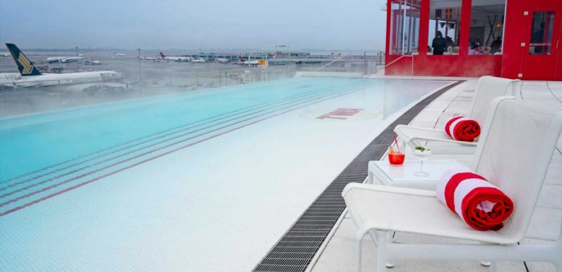 Sticker shock: TWA Hotel adds $50 per person fee plus tax to use that famous rooftop pool