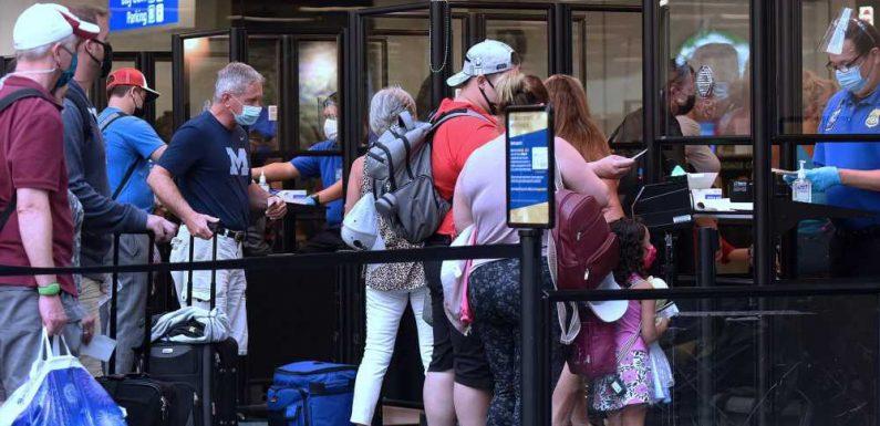 TSA Screened Over 1.6 Million Travelers on Sunday in New Pandemic-era Record