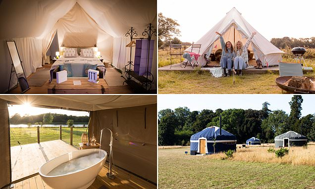 Ten top luxury glamping sites for this summer