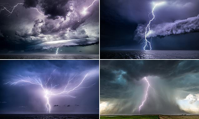 The photographer who snaps lightning storms with electrifying results