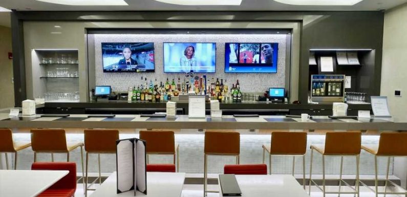 These are all of the airline lounges in the US that are currently open