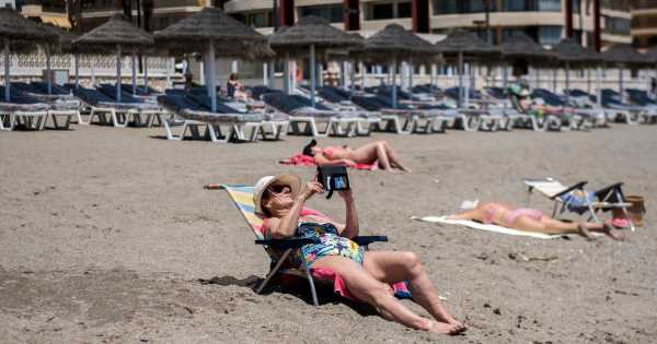 Up to 100,000 Brits will fly to Spain this week despite amber list designation