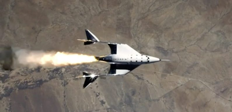 Virgin Galactic completed its third flight to the edge of space as it gears up to accept space tourists next year