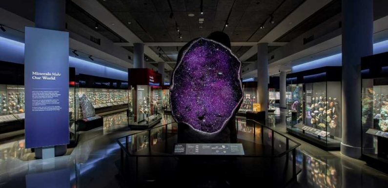 American Museum of Natural History Unveils Shining New Halls of Gems and Minerals As Visitors Continue to Return