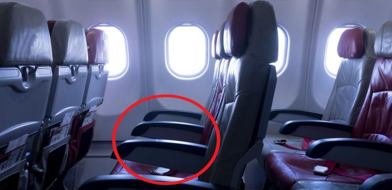 Argument over who gets the armrest on planes finally solved – but not everyone agrees