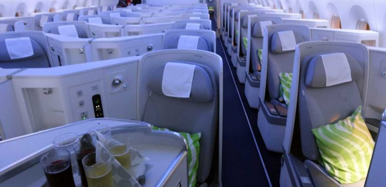 Basic business: Your next flight up front might be purchased a la carte