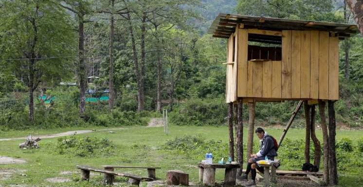 Bhutan's king has been hiking and camping across his mountainous kingdom to oversee pandemic measures