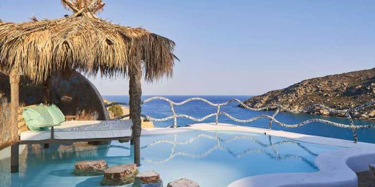 Calilo a work of art on the Greek island of Ios