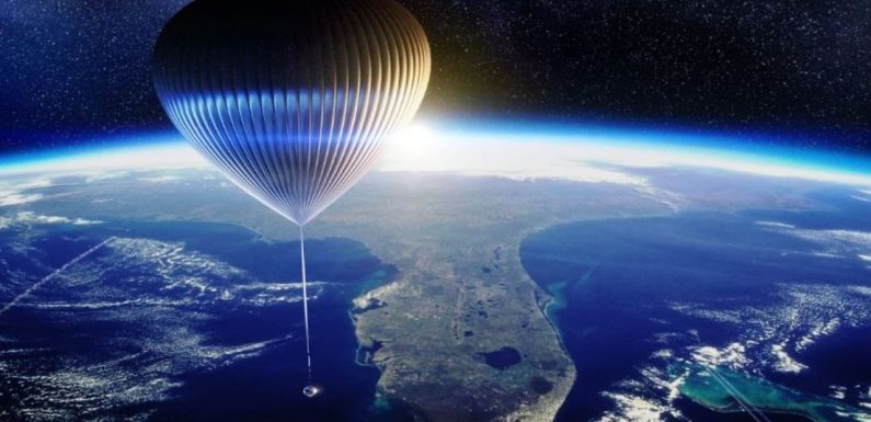 Company offers $165k balloon rides to the edge of space