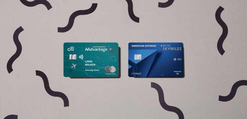 Credit card showdown: AA Mileup vs. Delta Blue Amex