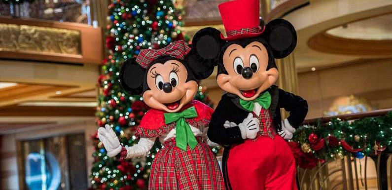 Disney Cruise Line Announces Halloween and Christmas Cruises for 2022