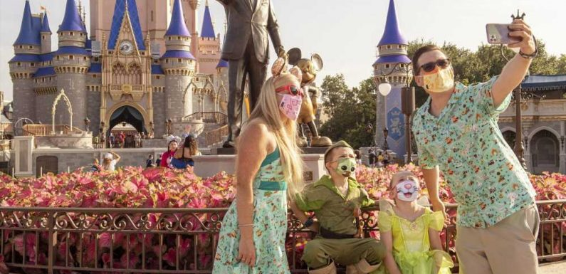 Disney World Makes Masks Optional for Vaccinated Guests