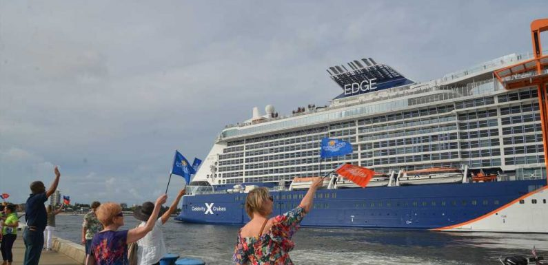 Dispatch, Celebrity Edge: An emotional moment for the Celebrity team
