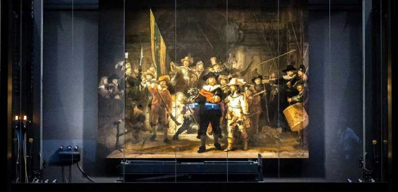 Famous Rembrandt Painting in Amsterdam Restored Using AI