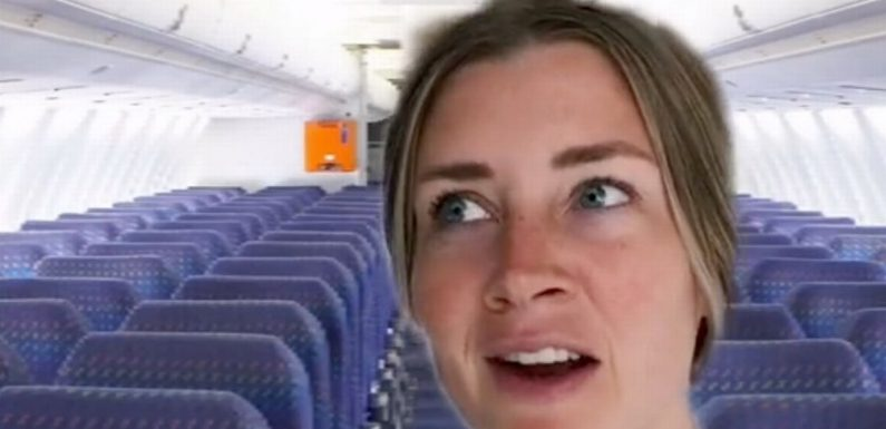 Flight attendant says putting your seat up could be 'life or death' decision