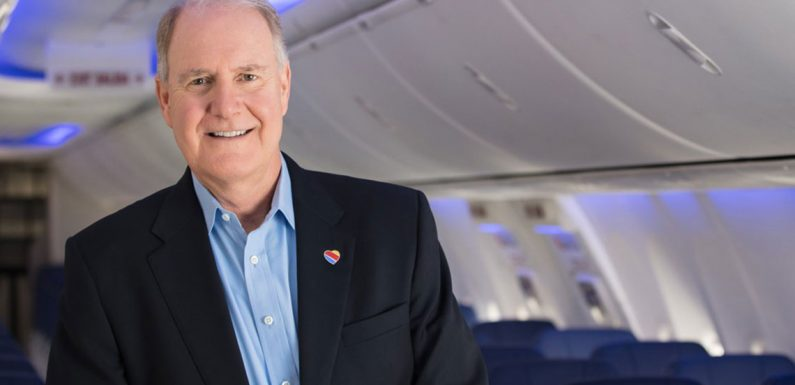 Gary Kelly stepping down as Southwest Airlines CEO