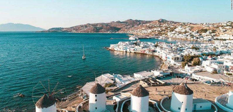 Greece's Mykonos says it's ready to party like before Covid