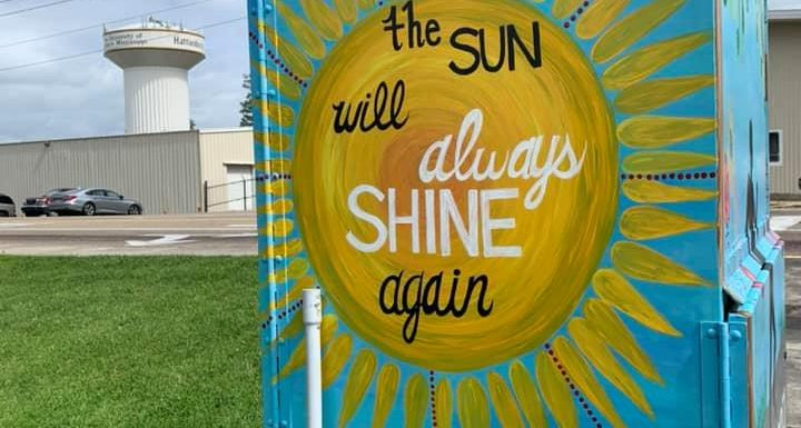 Hattiesburg, Mississippi, Is Transforming Utility Boxes Into Beautiful Works of Art