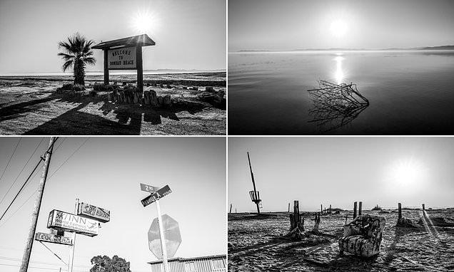 Julian Lennon photos capture the eeriness of California's Salton Sea