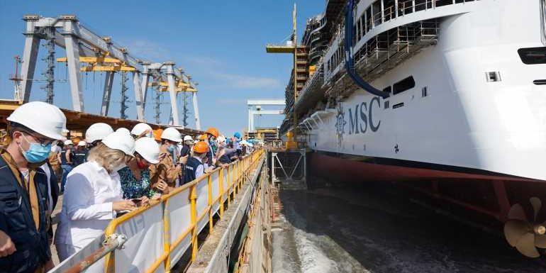 MSC Cruises names its second Seaside EVO ship