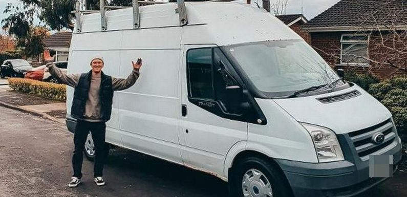 Man converts simple white van into stunning Moroccan-inspired staycation vehicle