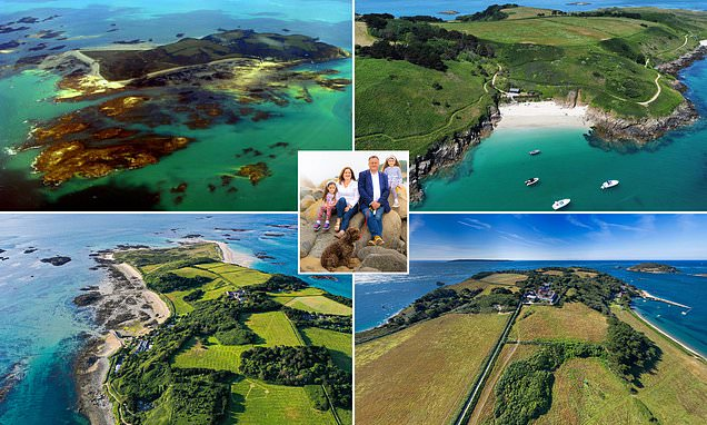 Meet the CEO of tiny Channel Island Herm, which has just 70 residents