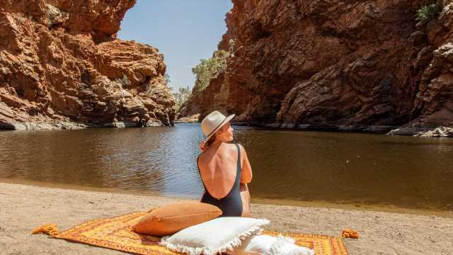 Northern Territory's best swimming holes outside Alice Springs