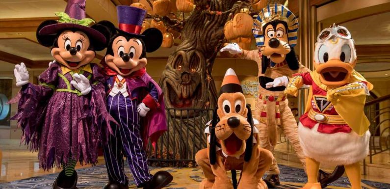 Once again, Disney cruises to host Halloween and Christmas celebrations