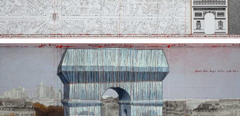 Paris's Arc de Triomphe Is Getting a Temporary Makeover This Fall